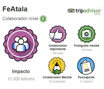 FeAtala no TripAdvisor